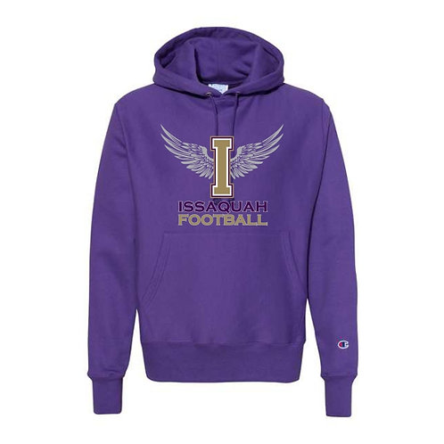 Champion Winged I logo  Reverse Weave Hooded Pullover