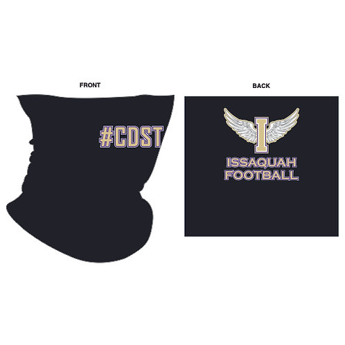 Sideline Buff - custom sublimated printed face covering