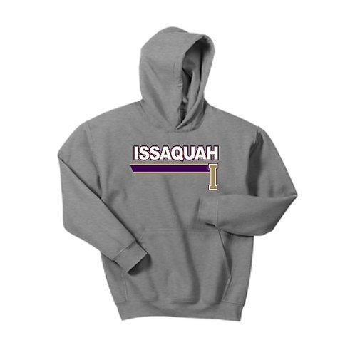 PERSONALIZED Youth Cotton blend Hooded sweatshirt with stripe logo