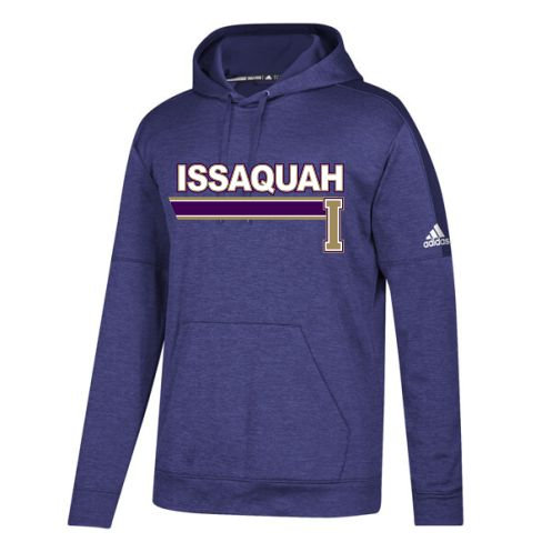 Adidas Team Issue Hooded Pullover w/ Issaquah Stripe logo