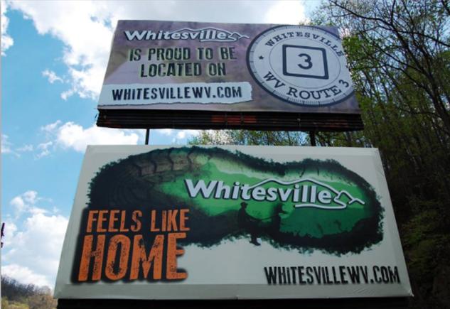 #BrandWhitesville Billboard