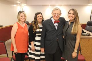 WVU President Gordon Gee talks #BrandGrafton with residents
