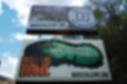 A billboard to #BrandWhitesville