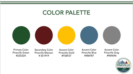 Pineville Color Palette