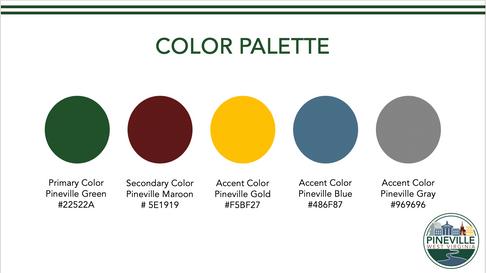 Pineville Color Palette