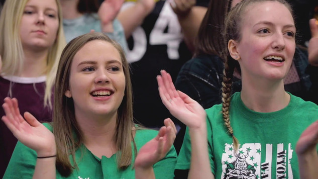 Basketball Rivalry Video for #BrandPineville — Wyoming East vs. We