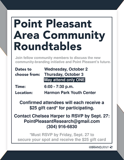 Point Pleasant Community Roundtable Flier