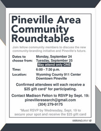 Community Roundtable Flier