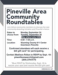 Roundtable Flier