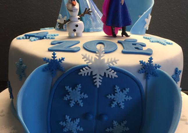 Frozen Schloss