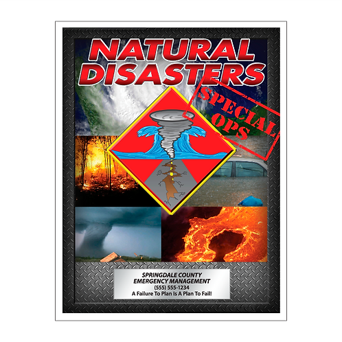 Disaster Coloring Book