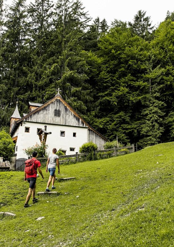Wanderung zur Einsiedelei in St. Johann in Tirol.