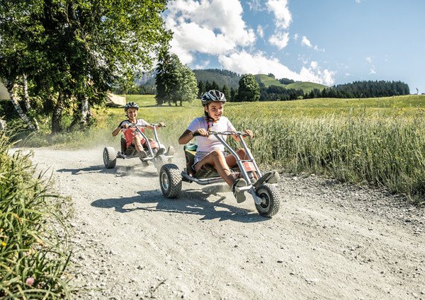 Mountaincart Ausflug am Kitzbüheler Horn.