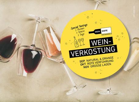 24./25./26. September 2020 – Weinverkostung Spezial