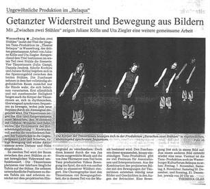 """Ebersberger SZ """"Zwischen zwei Stühlen"""" 11/03"""