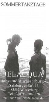 Sommertanztage Belacqua