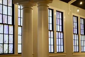 Stained Glass Windows (Main Ballroom)