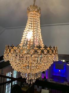 Chandellier in Loft (Main Ballroom)