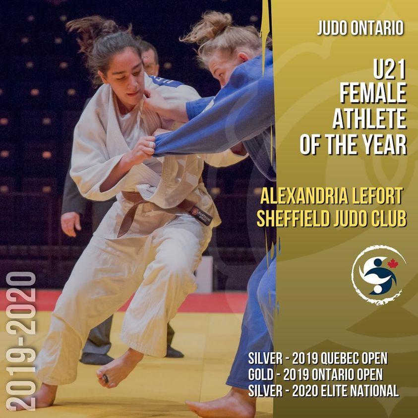 Alexandria LeFort - U21 Female Athlete of the Year