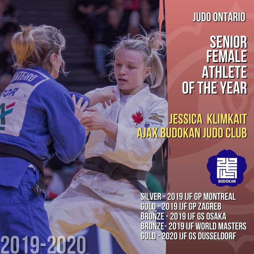 Jessica Klimkait Senior Female Athlete of the Year