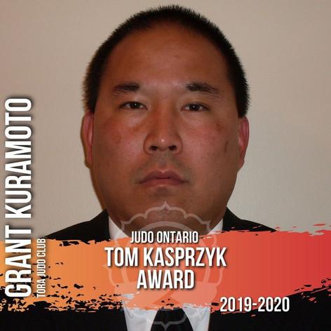 Grant Kuramoto - Tom Kasprzyk Award