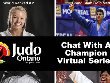 Chat with a Champion Series - Starts Apr 17