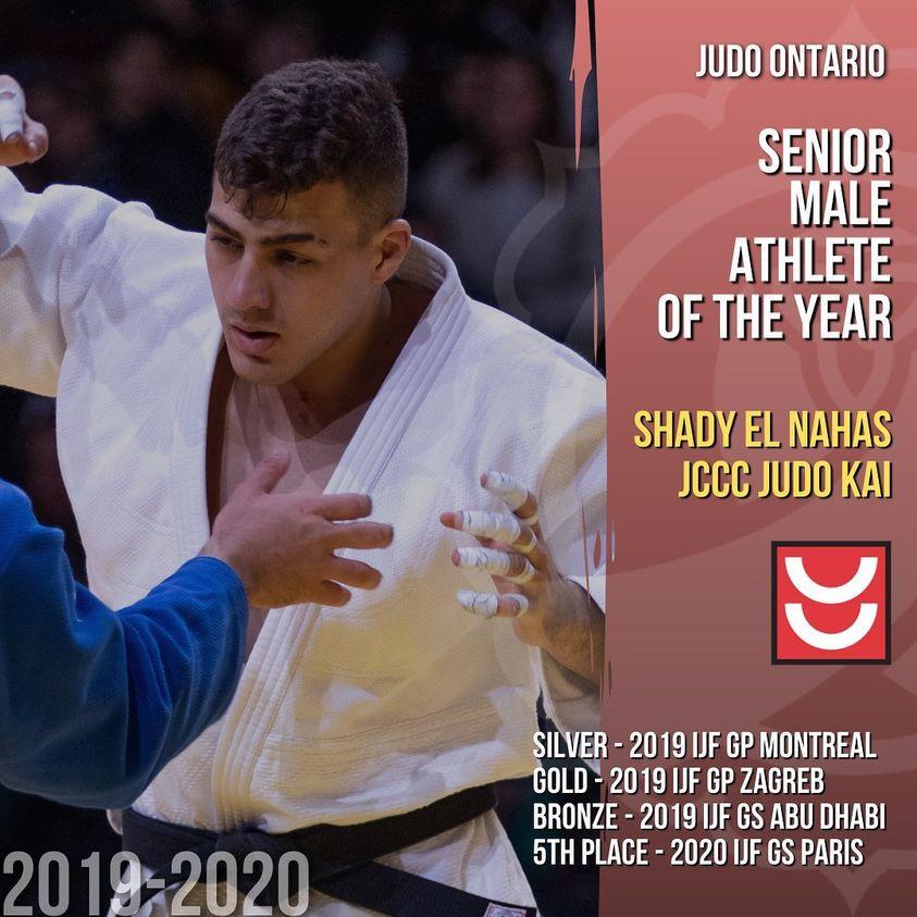 Shady El Nahas - Senior Male Athlete of the Year
