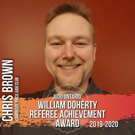Chris Brown - Bill Doherty Award