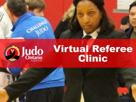 Virtual Referee Clinic - Apr 25