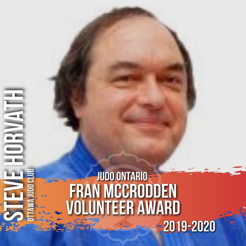 Steve Horvath - Fran McCrodden Volunteer of the Year