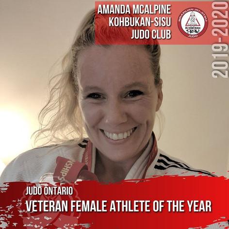 Amanda McAlpine - Veteran Female Athlete of the Year
