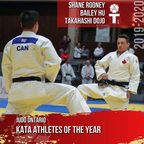 Shane Rooney & Bailey Hu - Kata Athletes of the Year
