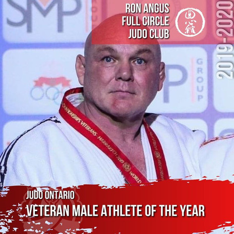 Ron Angus - Veteran Male Athlete of the Year