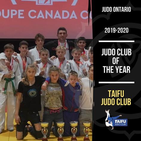 Taifu Judo Club - Club of the Year