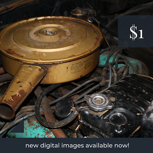 Digital Web Graphic | Car Engine (under the hood) | Photography