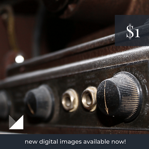 Digital Web Graphic | Voltage Knobs | Photography