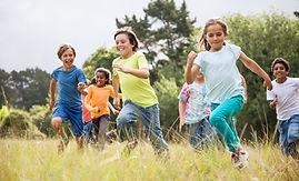 Image of Children running to represent Pediatrics and Adolescents medicine