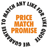 FanKlapper Price Match Guarantee - we guarantee to match any like for like quote