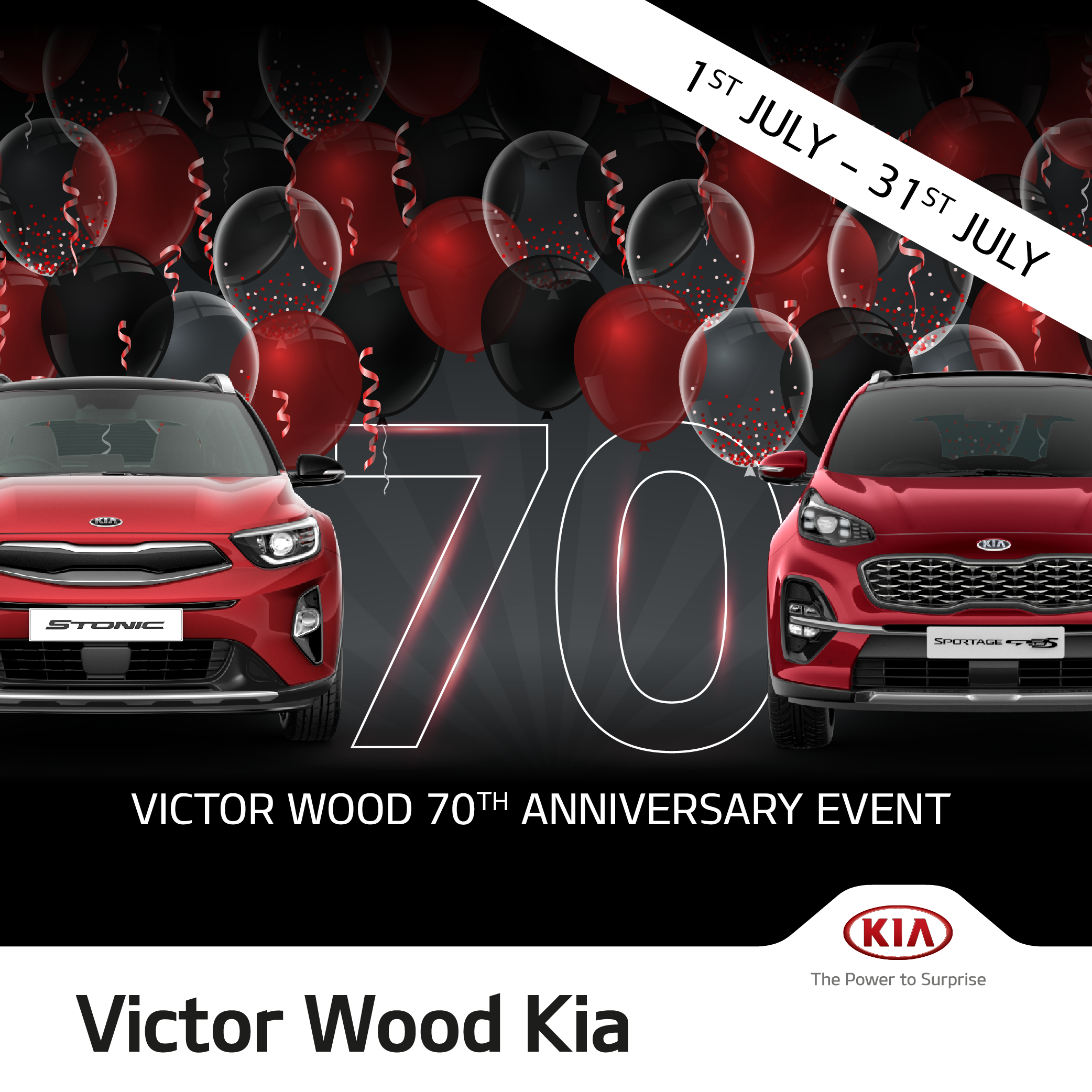 Victor Wood 70th Anniversary