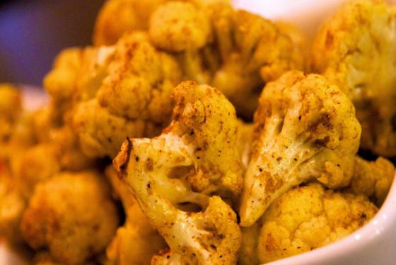 Fermented Curried Cauliflower