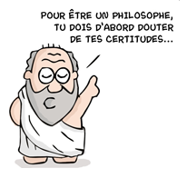 Pour être un bon philosophe, il faut commencer par douter