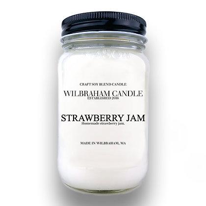 Jar Candle - Strawberry Jam
