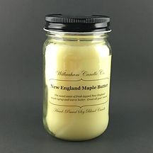 New England Maple Butter 16oz Jar Candle