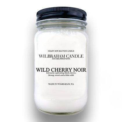 Jar Candle - Wild Cherry Noir