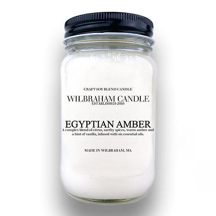 Jar Candle - Egyptian Amber