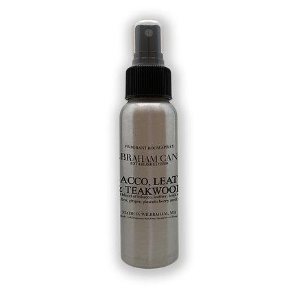 Room Spray - Tobacco, Leather & Teakwood