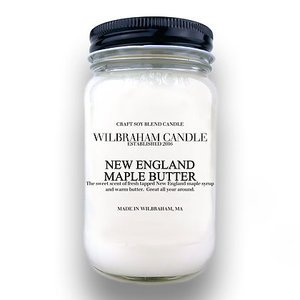 Jar Candle - New England Maple Butter