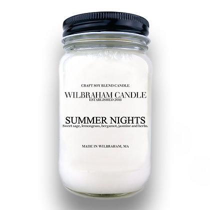 Jar Candle - Summer Nights
