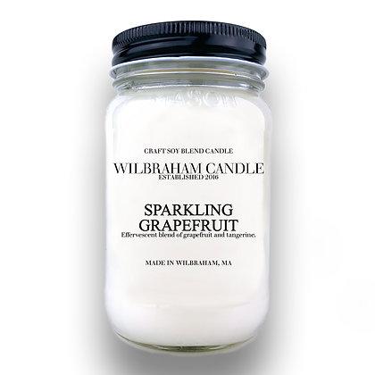 Jar Candle - Sparkling Grapefruit