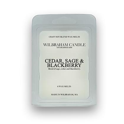 Wax Melts - Cedar, Sage & Blackberry